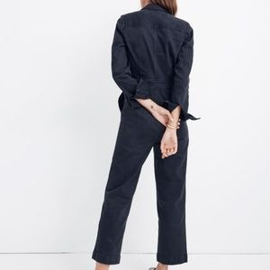 120bfd255f3 Madewell Pants - Madewell Garment-Dyed Denim Slim Coverall Jumpsuit